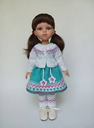 KasatkaDollsFashions - вязаная <b>одежда для кукол</b> | Bábiky