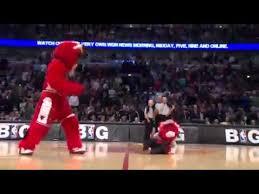 Самый лучший в мире баскетбольный талисман Chicago Bulls ...