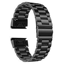 Replacement <b>Silicone Bracelet Band</b> Strap For Garmin Fenix 5X/3 ...