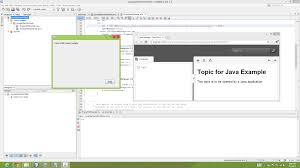 create a java application that uses flare html help java application and flare html5 help
