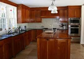 Small Picture Cherry Cabinets Kitchen