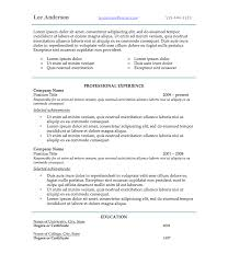 resume fonts and templates co resume style 6
