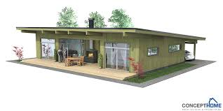 Affordable Home Plans  Affordable Modern House Plan CH Inexpensive Contemporary House  Modern Home Plan