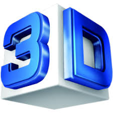 Image result for images of 3 d letters