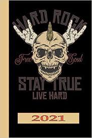 Hard Rock Free Soul Stay True Live Hard 2021 ... - Amazon.com