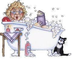 Resultado de imagem para tomar banho de banheira