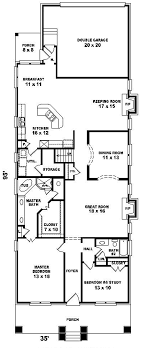 House Plans Narrow Lot   Smalltowndjs comSuperb House Plans Narrow Lot   Narrow Lot Lake House Floor Plans