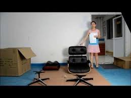 Assembly of <b>Eames lounge</b> chair by Fuleague - YouTube