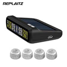 REPLAITZ T881 <b>Smart Car TPMS Tyre</b> Pressure Monitoring System ...