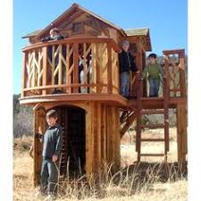 images about Tree houses on Pinterest   Treehouse  Kid Tree    Dream Tree Loft Playhouse   Cool playhouse design  Not     cool  but good