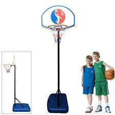 Ktaxon 4.9-5.9ft <b>Height Adjustable</b> Basketball Hoops, Portable ...