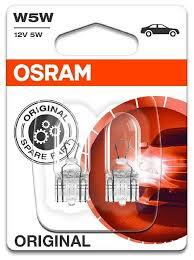 <b>Лампа</b> автомобильная накаливания <b>Osram</b> 2825-02B <b>W5W</b> 5W 2 ...