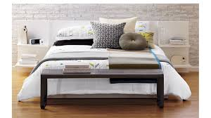 andes white bed cb2 bedroom furniture cb2 peg