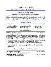resume example exman  jpgoperations director resume example