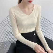 utumn nd winter sweater women Slim was thin V-neck large ... - Vova