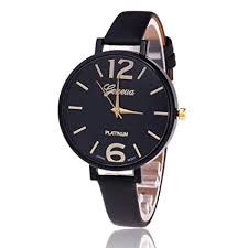 Wrist Watch, Casual Alloy Dial Decoration Watch with <b>Adjustable PU</b> ...