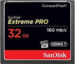 <b>SanDisk</b> Extreme Pro 32 GB 160 MB/s <b>Compact Flash</b> Memory Card ...