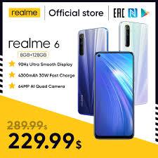 Мобильный <b>телефон Realme 6</b> Pro, 8 ГБ ОЗУ 128 Гб ПЗУ, 6Pro ...
