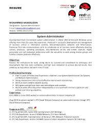 system administrator cv resume mohammed habeebuddin designation system administrator e mailhabeebuddincse kronos systems administrator resume