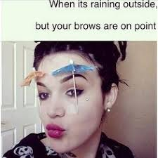 Bad eyebrows/makeup on Pinterest | Eyebrows, Makeup Fail and Fails via Relatably.com
