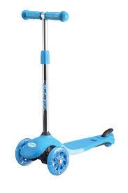 <b>Самокат 3-х колесный Moby</b> Kids Junior Light 2.0 120 мм синий ...