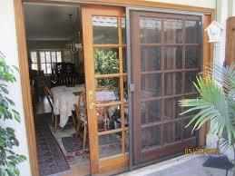 screen sliding door