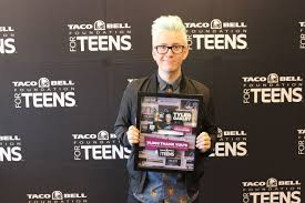 taco bell reg foundation for teens and star tyler oakley full size