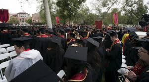 THE PRIZE  Graduation day last year at the University of Southern California in Los Angeles  A USC college enrollment research center is receiving              Reuters