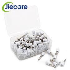 <b>50 PCS</b>/Box <b>Dental</b> Materials <b>Dental White Polishing</b> Cup Rubber ...