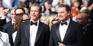 Brad Pitt and Leonardo DiCaprio <b>premiere</b> film at <b>Cannes</b>
