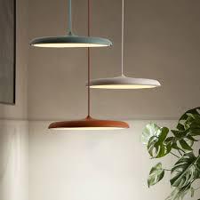 <b>Nordic</b> LED Pendant Light UFO Lamps Metal Flying Saucer <b>Luster</b> ...