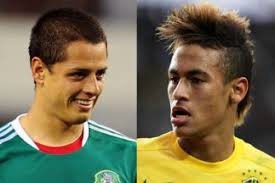 Chicharito y Neymar