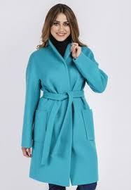 Купить женские <b>пальто</b> бирюзовые в интернет-магазине Lookbuck