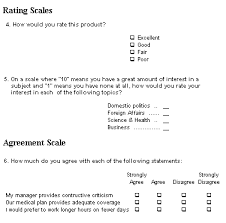 Survey Design Software   Design A Successful Survey System Example of Question Types