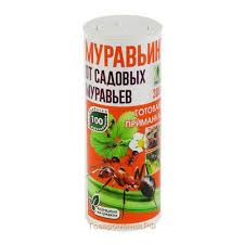 <b>Средство</b> от садовых <b>муравьев</b> МУРАВЬИН Грин Бэлт, туба 300г
