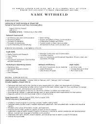 Functional Resume Example: Resume Format Help functional_resume_format