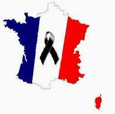 Resultado de imagen para imagenes de bandera de francia de duelo