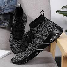 <b>2019 summer</b> new flying woven running shoes <b>men's</b> casual sports ...