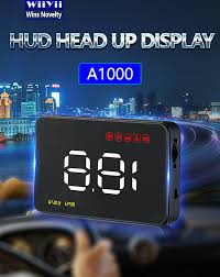 <b>GEYIREN</b> A1000 Car <b>HUD OBD</b> II <b>Head</b> Up Display Overspeed ...