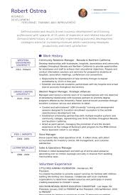 community relations manager resume samples   visualcv resume    community relations manager nevada  amp  northern california resume samples