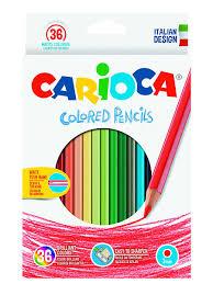 <b>Набор карандашей цветных</b> CARIOCA, 36 цв Carioca 2701270 в ...