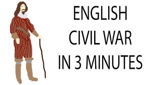 english civil war minute history english civil war 3 minute history