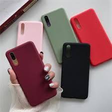 Liquid silicone Soft phone Case For Samsung A10 A20 A30 ... - Vova