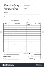 invoice book template invoice template ideas invoice book template invoice book vector illustration of a bill pad template 1061 x 1600