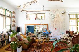 25 Awesome <b>Boho Chic</b> Living Rooms: Delve into <b>Bohemian Charm</b> ...