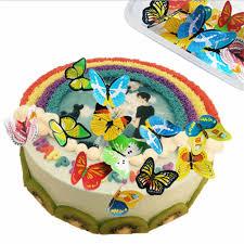 1pc Gold Silver Blue Cupcake <b>Cake Topper</b> Happy Birthday Cake ...