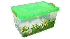 <b>Контейнер для хранения Росспласт</b> 50L Трава Transparent - Чижик