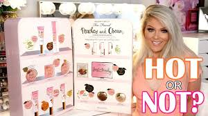 new <b>too faced peaches &</b> cream collection | tutorial & review