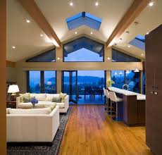 lighting in vaulted ceiling. 16 ways to add decor your vaulted ceilings homesthetics 7 lighting in ceiling