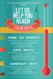 fundraising thermometer poster anuvrat info thermometer poster